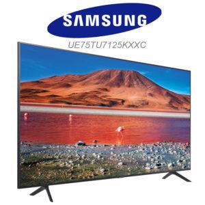 Samsung UE75TU7125KXXC UHD 4K TV dans le test