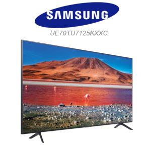 Samsung UE70TU7125 dans le test